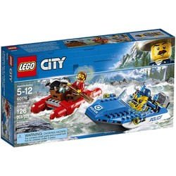 Bộ lắp ráp LEGO Thuyền Hơi Tẩu Thoát - Wild River Escape