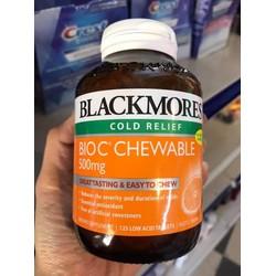 Giảm giá Viên ngậm bổ sung Vitamin C Blackmores Bio C -  500mg 125 viên – Ngày ngậm 2 viên