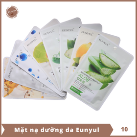 Mặt nạ dưỡng da Eunyul - Combo 10 miếng - KOR015-10
