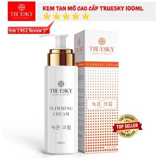 Kem Tan Mỡ Bụng Quế Gừng Truesky Giảm Vòng Eo Cấp Tốc 100Ml Slimming Cream - 3HzDuP8Ycc thumbnail