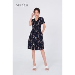 De Leah - Đầm Ôm A Nhún Li Ngực - Thời trang thiết kế
