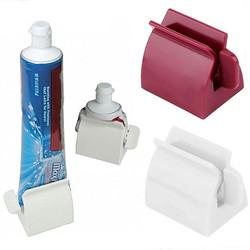 Dụng cụ lấy kem đánh răng tiết kiệm triệt để Máy ép kem đánh răng bằng nhựa dùng cót vặn