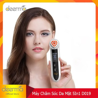 MÁY MASSAGE MẶT- MÁY MASSAGE MẶT - MÁY MASSAGE MẶT 5IN 1 CAO CẤP D019 thumbnail