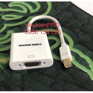 Cáp minidisplayport ra vga adapter KY-M363W - king363 thumbnail