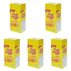 Combo 5 Hộp Bánh xốp Ahh RICHEESE 160g x 5