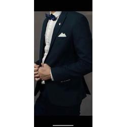 áo vest xanh rêu chú rể bao sang trọng form đep chuẩn