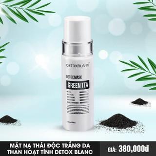 Mặt nạ sủi bọt thải độc trắng da Detox BlanC Mask than hoạt tính 150ml - 595 thumbnail