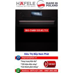 Lò nướng kèm hấp Hafele HO-T60B 535.02.711 nhập khẩu Ba Lan
