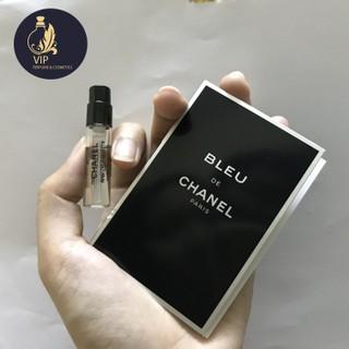 Mẫu thử nước hoa nam CHANEL BLEU DE CHANEL EDT POUR HOMME 1.5ml - PHIÊN BẢN 2010 thumbnail
