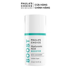 Tinh chất tăng cường cấp ẩm, chống nhăn và lão hóa Paula's Choice Hyaluronic Acid Booster 15ml