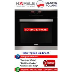 Lò nướng âm tủ Hafele HO-T60D 534.05.561 nhập khẩu Ba Lan