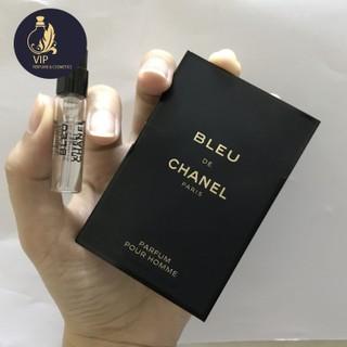 Mẫu thử nước hoa nam CHANEL BLEU DE CHANEL PARFUM POUR HOMME 1.5ml - PHIÊN BẢN 2018 thumbnail