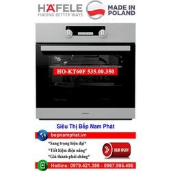 Lò nướng âm tủ Hafele HO-KT60F 535.00.350 nhập khẩu Ba Lan
