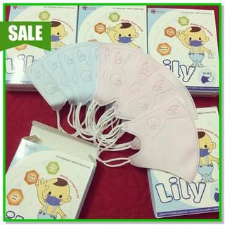 Khẩu Trang trẻ em LiLy, khẩu trang y tế 1 hộp 10c - KHẨU TRANG Y TẾ TRẺ EM thumbnail