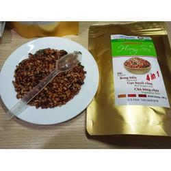 Gạo lứt sấy rong biển Hương Sen cao cấp 4 trong 1 gói 100g