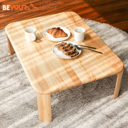 Bàn trà sofa gỗ BEYOURs C Table chân gập nội thất kiểu Hàn lắp ráp - size M