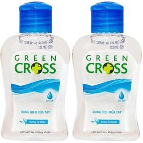 [Nhập SD74D9 giảm 10k] Combo 2 chai Nước Rửa Tay Khô Green Cross 100ml Hương Tự Nhiên - GRENCROSS2