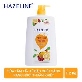 Sữa tắm Hazeline Tẩy tế bào chết sáng da 1.2KG - 8934868141846
