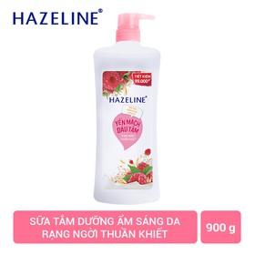 Sữa tắm Hazeline Sáng mịn đều màu 900G - 8934868136903