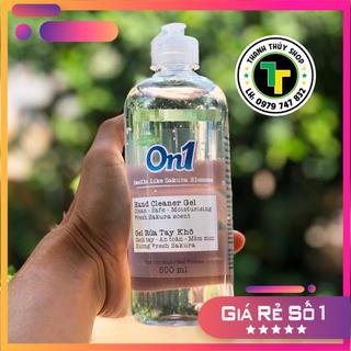 Gel rửa tay khô hiệu ON1 siêu sạch khuẩn phòng chống dịch cực tốt không cần rửa lại với nước loại 500ml - td20 thumbnail