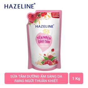 Sữa tắm Hazeline Sáng mịn đều màu 1000G - 8934868125464