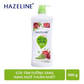 Sữa tắm Hazeline Rạng ngời thuần khiết 900G - 8934868136897