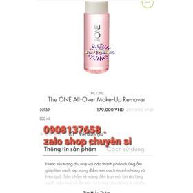 Nước tẩy trang 32139 The ONE All-Over Make-Up Remov - 32139