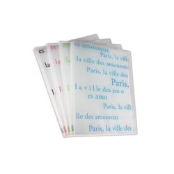 Double A Bìa 20 Túi Trong - Mẫu Paris (2 Cái)