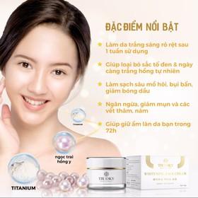 Kem dưỡng trắng da mặt Truesky chiết xuất ngọc trai hồng y 10g - Whitening Face Cream - TRUESKY_FACE10G-4