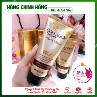 [Hàng Nhập Khẩu Hàn Quốc] Mặt nạ đắp mặt - Mặt nạ vàng 24k Collagen Luxury Gold 3W Clinic Hàn Quốc 100ml - GDMTCV thumbnail