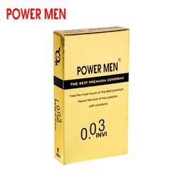 Bao cao su Powermen INVI 0.03