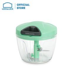 Dụng cụ băm rau củ quả Lock&Lock, Size M, 125x110mm,650ml - Màu xanh lá cây