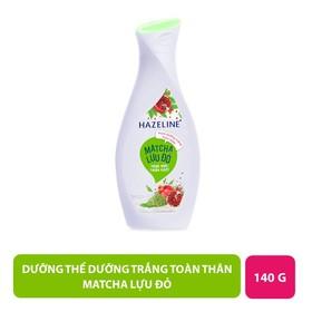Sữa Dưỡng Thể Hazeline Dưỡng Trắng Da Matcha Lựu Đỏ 230ml - 8934868141808