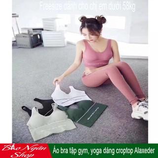 Áo croptop tập Gym yoga - Áo bra tập gym, yoga dáng croptop Alaxeder thumbnail