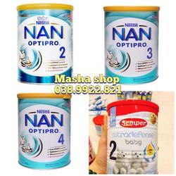 sữa Nan Nga 2 - 3 - 4