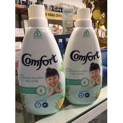 Chai nước xả vải Comfort kháng khuẩn dịu nhẹ chai 800ml