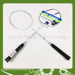 Bộ 2 Vợt cầu lông Yonex cao cấp chất lượng cao Greennetworks ( Thân Vợt Ngẫu Nhiên )