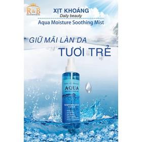 Xịt khoáng Aqua Moisture Soothing Mist - 88 0 9 4 2 6 9 5 7 8 0 4