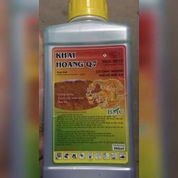Thuốc trừ cỏ Khai Hoang Q7 lít Cỏ cháy thế hệ mới 900ml