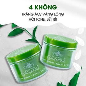 Kem Body Kích Trắng Collagen X3 (Body X3 Xanh) - 0165-3