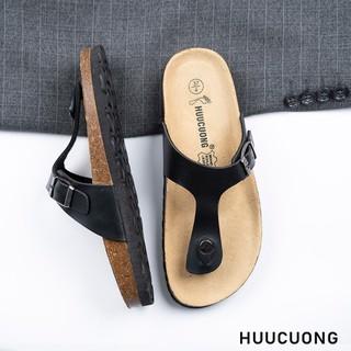 Dép kẹp ngón đen HuuCuong - 2161 thumbnail