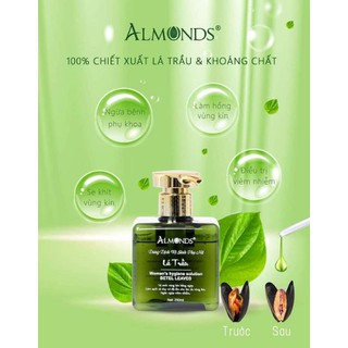 Dung dịch vệ sinh phụ nữ lá trầu almonds - Almonds10 thumbnail