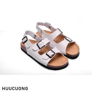 Sandal 2 khóa trắng HuuCuong - 2124 thumbnail