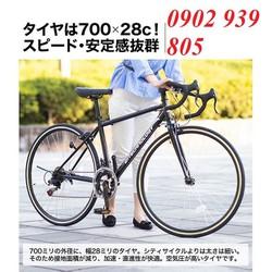 Xe đạp cuộc đường phố Bánh 700c Nhật nội địa kiểu 21TECHNOLOGY 2 đĩa 7 líp