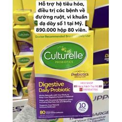 Viên uống hỗ trợ hệ tiêu hóa, điều trị các bệnh về đường ruột, vi khuẩn dạ dày số 1 tại Mỹ