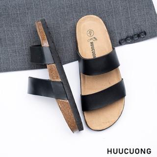 Dép 2 quai đen HuuCuong - 2151 thumbnail
