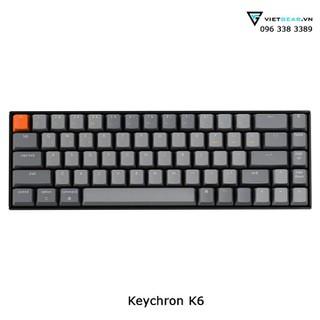 Bàn phím cơ Keychron K6 bluetooth bảo hành chính hãng - keychronk6 thumbnail