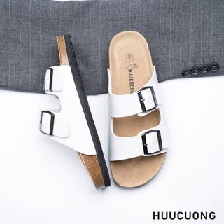 Dép 2 khóa trắng HuuCuong - 2128 thumbnail