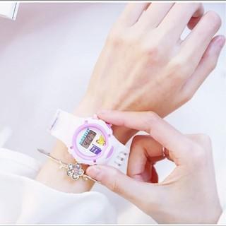 Đồng hồ dây cao su nữ - donghodaycaosunu 2