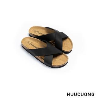 De p quai chéo da bo đen HuuCuong - 2193 thumbnail